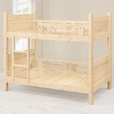 Bernice-日式松木雙層床架