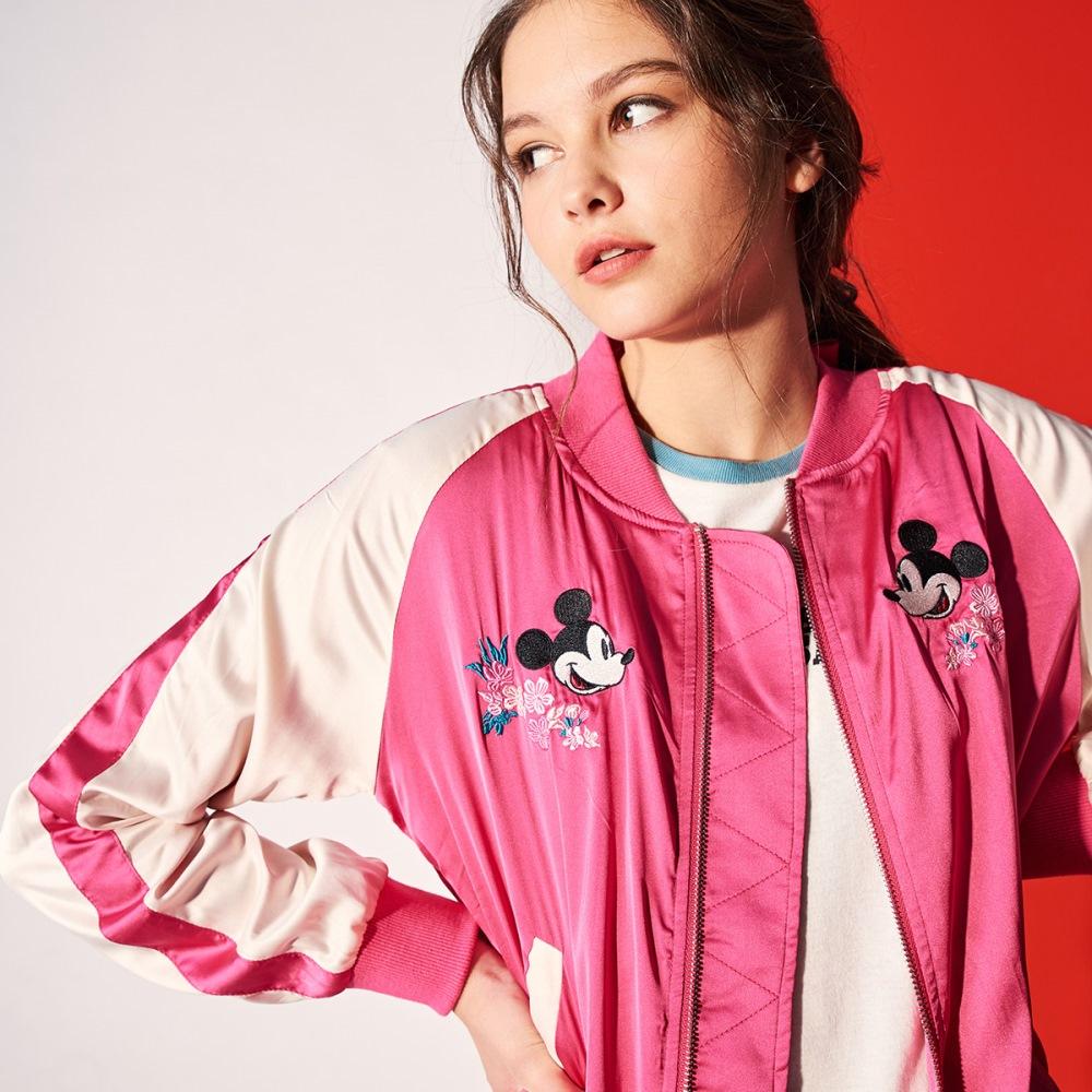 CACO-米奇款橫須賀外套兩色-女NDI022