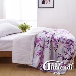 喬曼帝Jumendi-花境私語 台灣製大尺寸超柔細涼感紗涼被