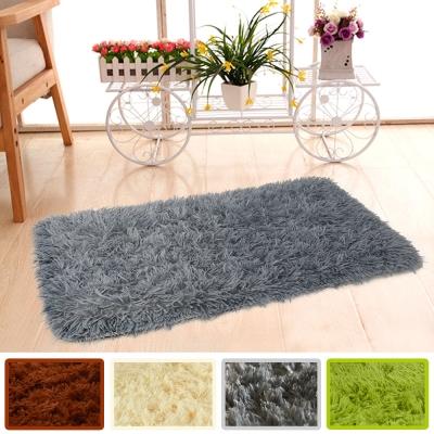 幸福揚邑 長毛羊絲絨地墊40x60cm防滑吸水超軟舒壓地毯