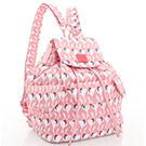 VOVAROVA空氣包-百寶袋後背包-粉粉紅鶴