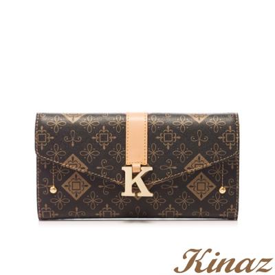 KINAZ-絕代風華長夾-簡約色經典系列-福利品