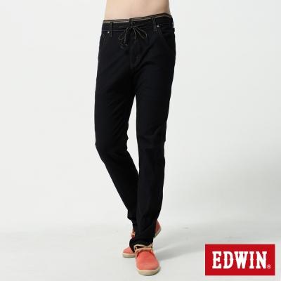 EDWIN AB褲 迦績褲JERSEYS針織3D牛仔褲-男-原藍色