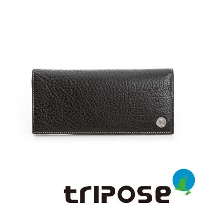 tripose  Yuppie系列多卡男長夾 - 深咖