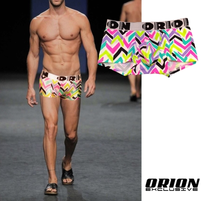 ORION 加強包覆繽紛平口內褲(閃電) 男內褲
