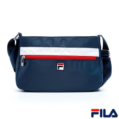 FILA女款小型側背包-丈青-BMQ-5105-NV