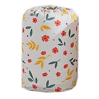 iSFun日系碎花 居家棉被衣物收納束口袋 小號70 x 32 cm