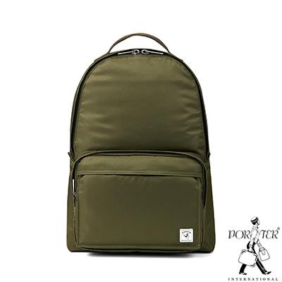 PORTER-經典氣度MA-1-簡約時尚後背包-S-軍綠