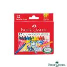 Faber-Castell 紅色系 大象粗芯蠟筆12色