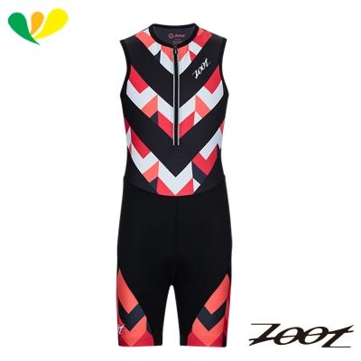 ZOOT 肌能連身專業級小鐵人服(女)(彩紋粉) Z1706028