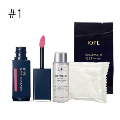 IOPE艾諾碧-炫色水漾唇釉彩妝套組
