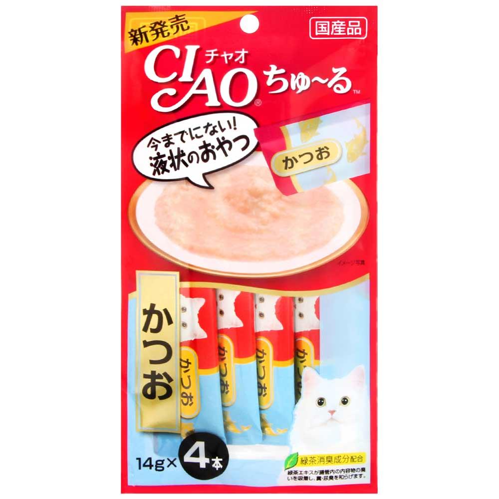 CIAO 啾嚕肉泥-鰹魚(14gx4入)