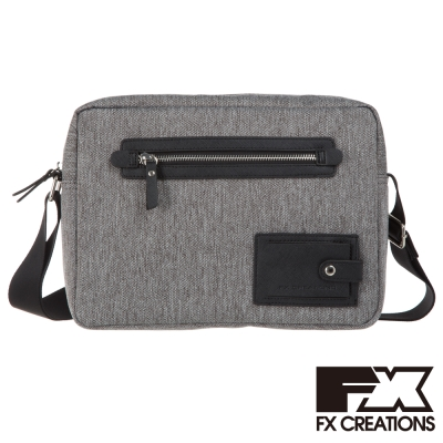 FX CREATIONS 側背包 小 淺灰 KAG69753-21