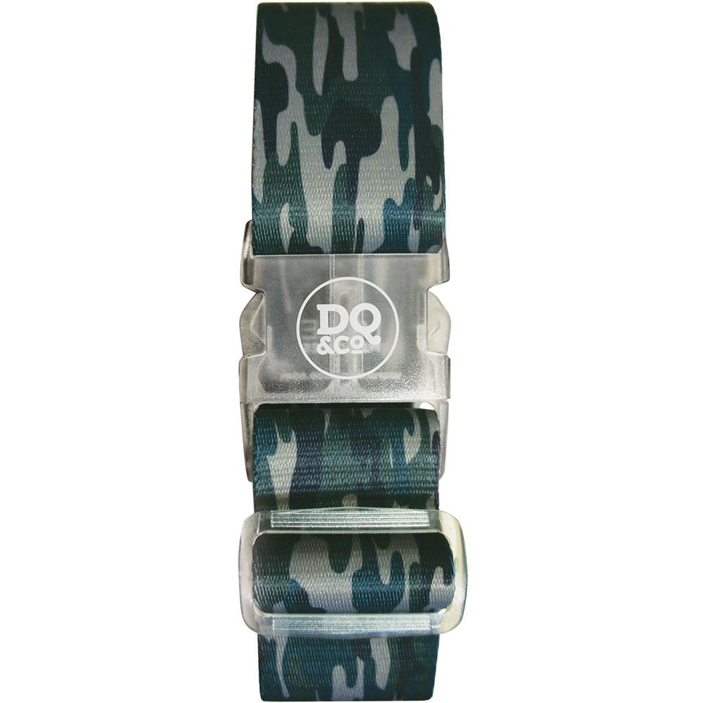 DQ 行李綁帶(迷彩綠)
