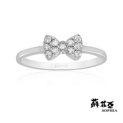 蘇菲亞SOPHIA - Love Bow系列一鑽石尾戒