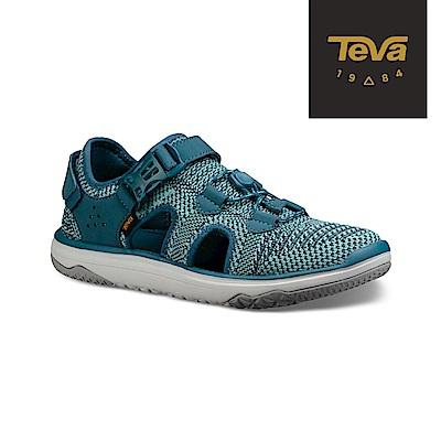 TEVA 美國 女 Terra-Float Travel 護指涼鞋 湖水藍