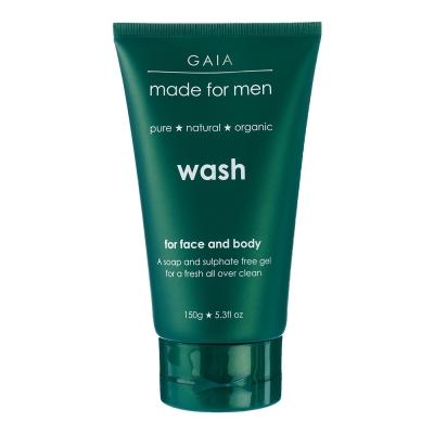 GAIA Made For Men Face&body 蓋雅紳士草本洗臉沐浴露 150ml