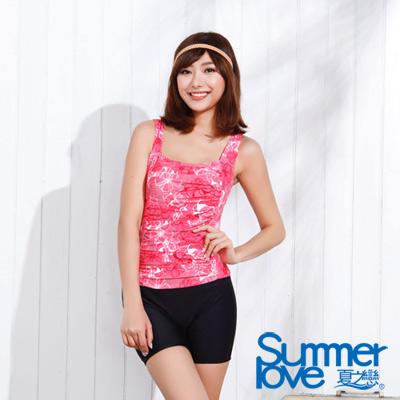 夏之戀SUMMER LOVE 氣質魅力連身四角泳衣