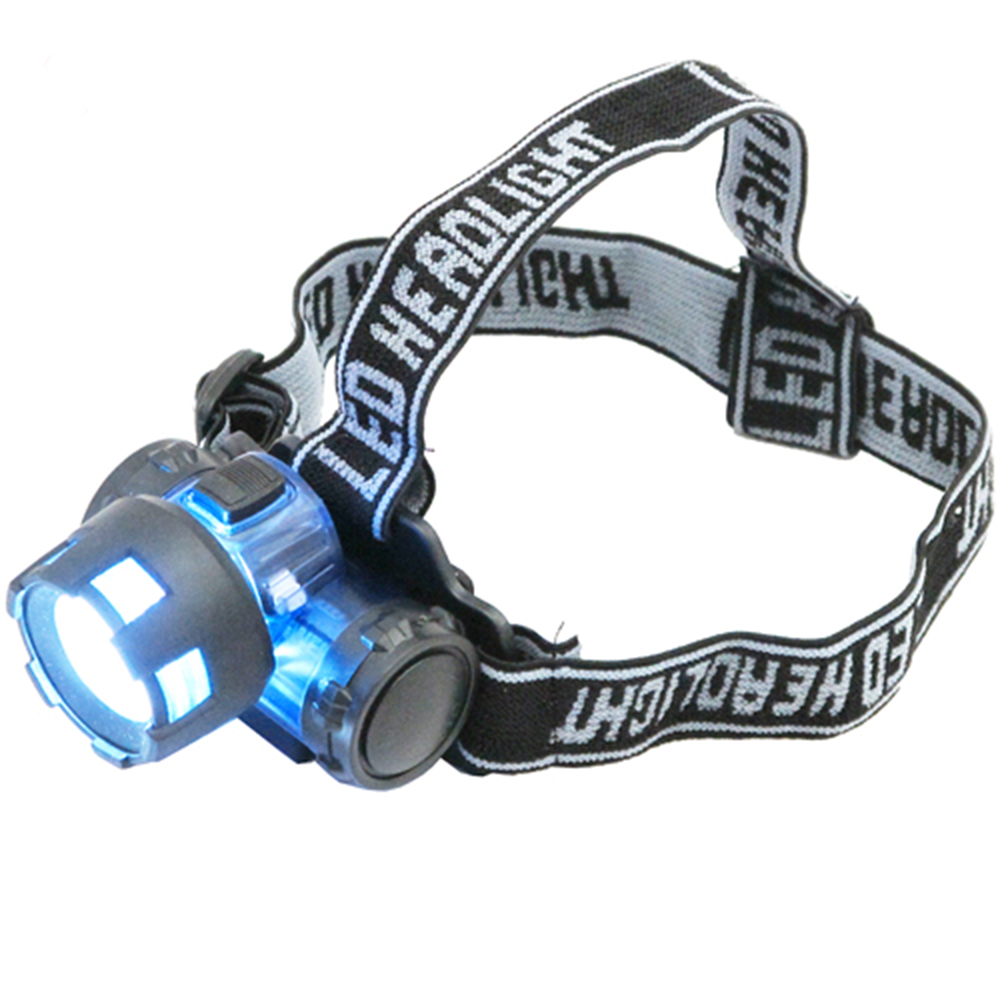 月陽3W160流明聚焦頭戴式強光LED頭燈電筒(6617)