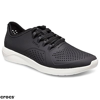 Crocs 卡駱馳 (男鞋) LiteRide男士步行鞋 204967-066