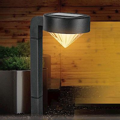 KINYO 太陽能LED庭園燈-黃光(GL-6019)