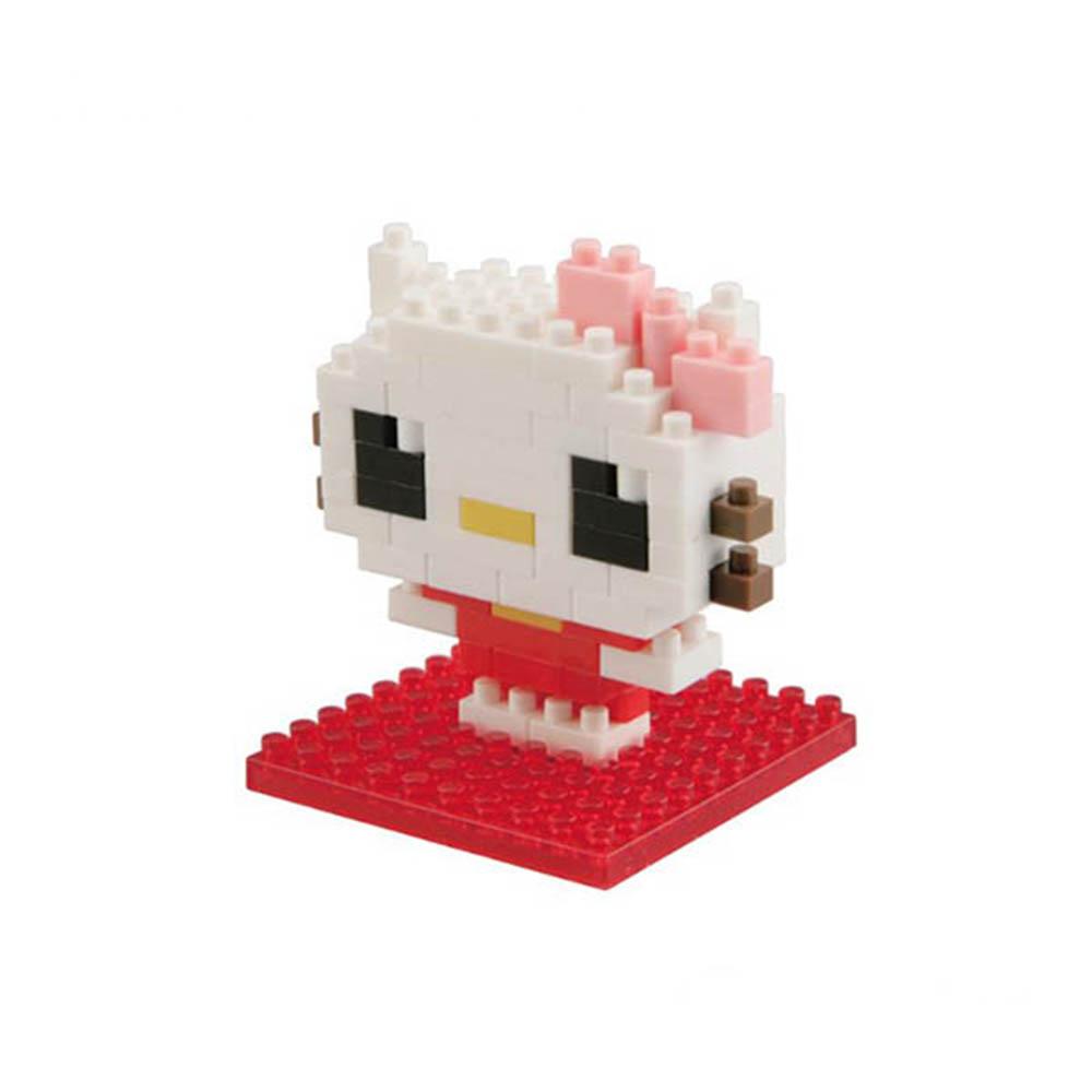 【KAWADA河田】nanoblock迷你積木/Kawaii系列/Hello Kitty