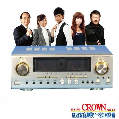皇冠5.1聲道數位迴音卡拉OK劇院擴大機CRA-5800K