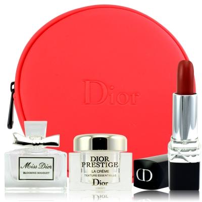(即期品)Dior迪奧 藍星絲絨精萃組 限量搶購