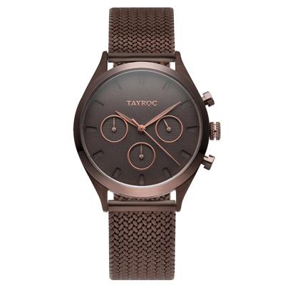 TAYROC  薔薇之芯時尚米蘭腕錶-TY57-36mm