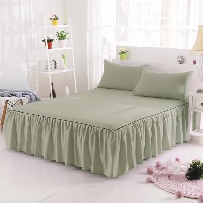 HUEI生活提案 韓系玩色二件式枕套床罩組 單人 灰