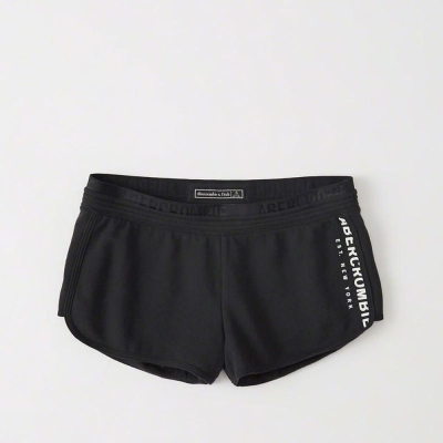 AF a&f Abercrombie & Fitch 女短褲 藍色 0056