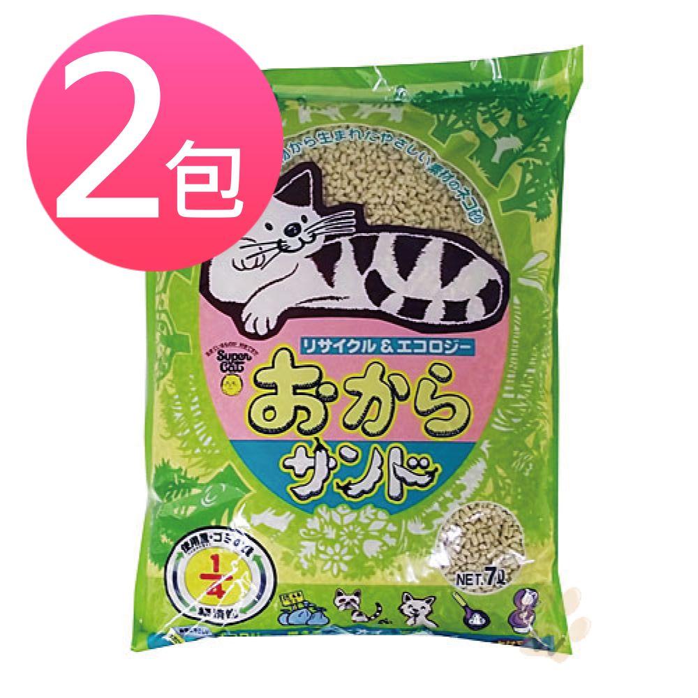 韋民 超級豆腐貓砂 7L 2包入