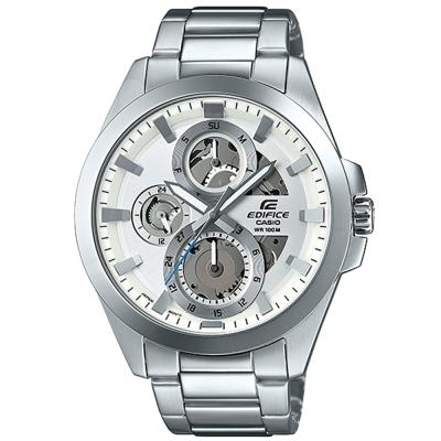 EDIFICE 科技魅力帥氣新貴指針腕錶(ESK-300D-7A)白面/45.1mm