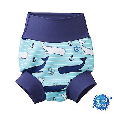 Splash About 潑寶 3D加強版 游泳尿布褲 - 海洋鯨魚