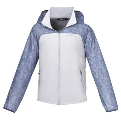 【ATUNAS 歐都納】男款防曬透氣輕薄外套 A-G1605M 灰