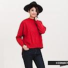 H:CONNECT 韓國品牌 女裝 - 袖縮口針織毛衣-紅