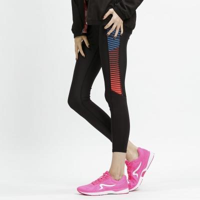 【ZEPRO】女子LEVELS 玩美緊身運動褲-時尚紅