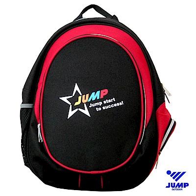 JUMP挺酷STAR兒童後背包(紅)