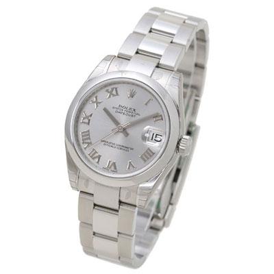 ROLEX 勞力士 Datejust 178240 蠔式恆動日誌型腕錶-銀/羅馬時標/31mm