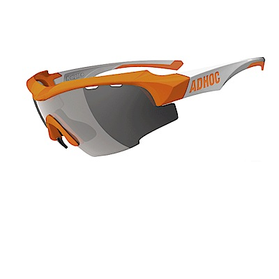 【ADHOC】運動太陽眼鏡-極速變色灰片-半框式 K-NIGHT Plus