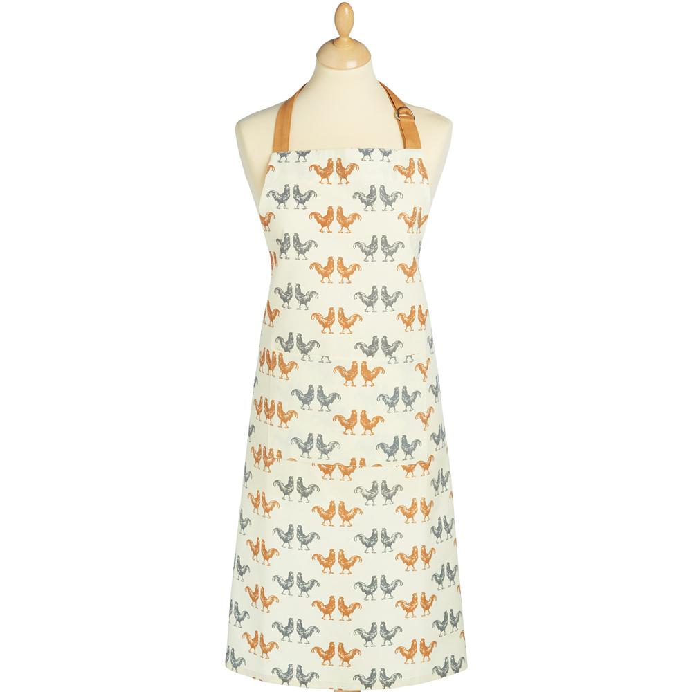 KitchenCraft 平口單袋圍裙(雙色雞)