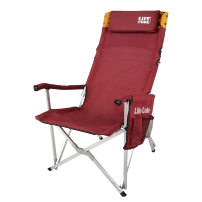 LIFECODE-瑪雅-豪華加高大川椅-椅背可折-附文件袋-頭枕-59x73x100cm