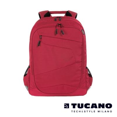 TUCANO LATO 15-17吋城市多功能收納後背電腦包-紅