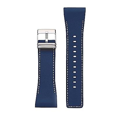 Smart Canvas 錶帶 皮革系列(靛藍)