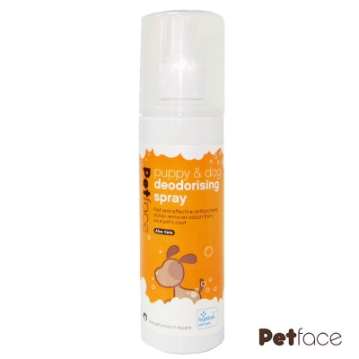 Petface除臭殺菌噴劑、幼犬及成犬用、200ml*2瓶