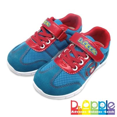 Dr. Apple 機能童鞋 微笑蘋果娃娃舒適休閒童鞋  藍