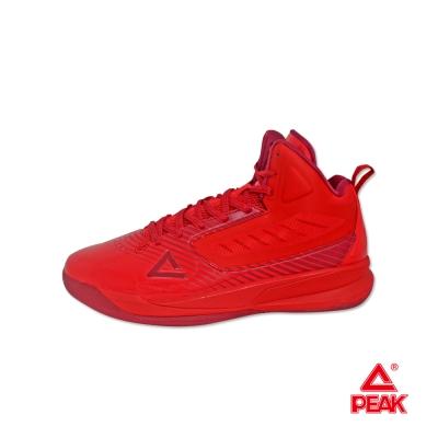 PEAK匹克。男緩震防滑耐磨籃球鞋-紅