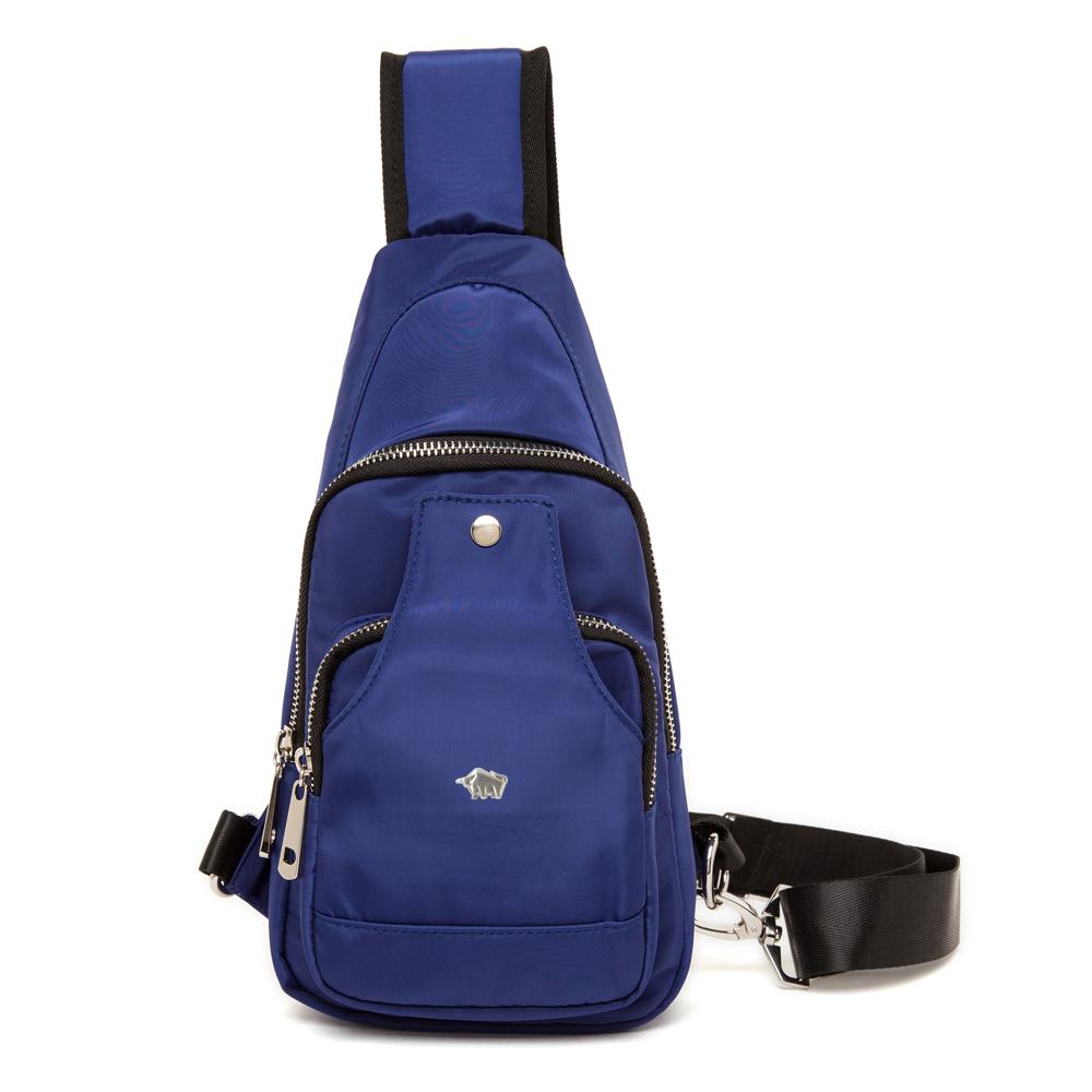 DRAKA 達卡 - 輕量防潑水單肩斜背胸包-藍