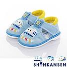 三麗鷗 新幹線童鞋 輕量減壓寶寶學步嗶嗶涼鞋-水