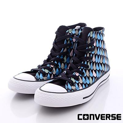 converse-冰心滴紋短筒帆布款-550732C(女段)N